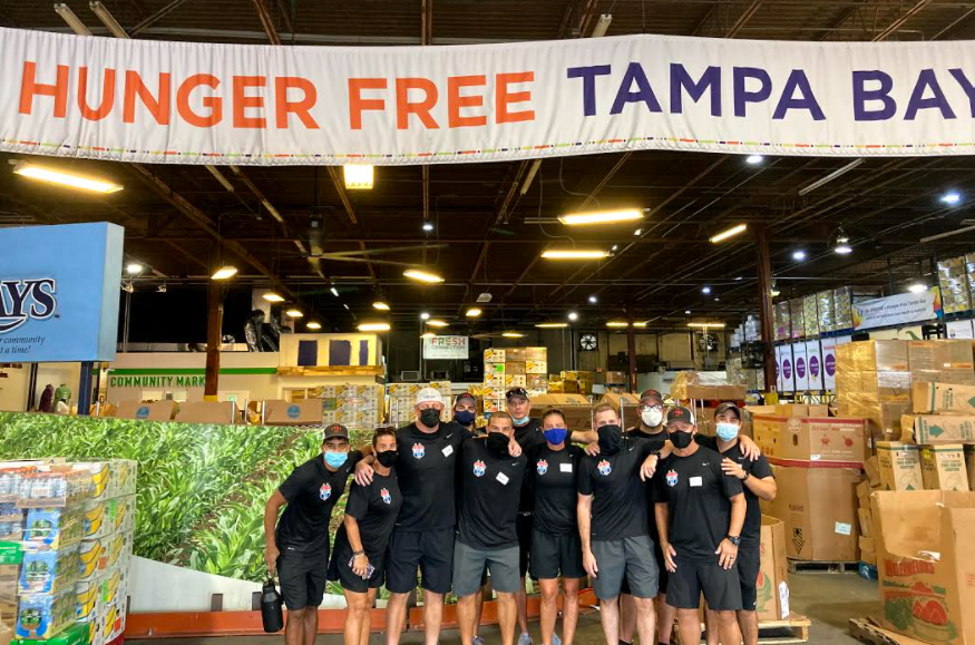 TBUSC Spends the Day with Feeding Tampa Bay